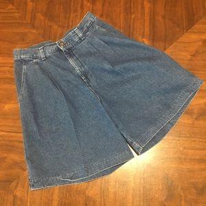Vintage Lee High Waist Mom Jean Shorts 8 Med